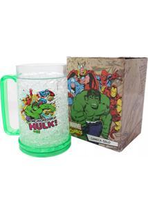 Caneca Gelo Hulk E A Galera Marvel Geek10 Verde