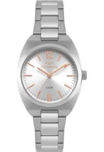 Relógio Technos Boutique Feminino - Feminino-Prata