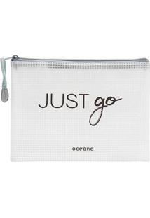 Nécessaire Océane - Pack It All - Unissex-Branco