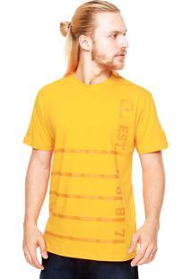 Camiseta New Era Est Pittsburgh Pirates Laranja