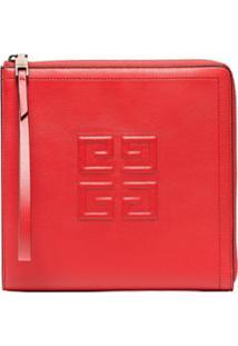 Givenchy Clutch De Couro - Vermelho