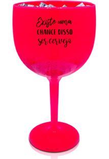 4 Taças Gin Rosa Personalizada Para Live