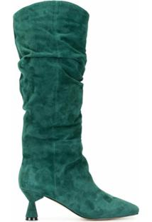 Mara & Mine Bota Willow Cano Longo - Verde