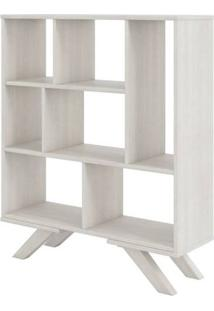 Estante Retro Branco Lavado 94 Cm (Larg) - 36662 - Sun House