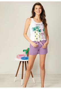 Pijama Waiting For Summer Feminino Malwee Liberta