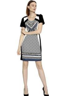 Vestido Energia Fashion Plus Size Manga Curta - Feminino-Chumbo