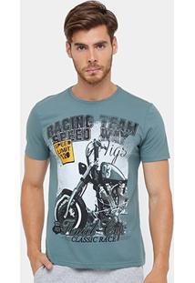 Camiseta Tigs Motorcycle Team Masculina - Masculino