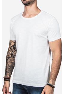 Camiseta Hermoso Compadre Meia Malha Masculina - Masculino-Branco