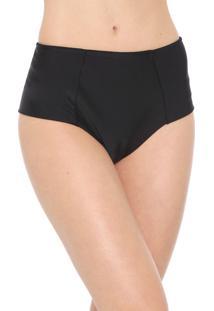 Calcinha Marcyn Hot Pant Recortes Preta