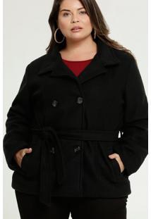 Casaco Feminino Soft Bolsos Plus Size Marisa