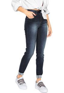 Calça Jeans Colcci Skinny Kim Azul-Marinho