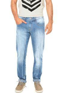 Calça Jeans Triton Estonada Azul