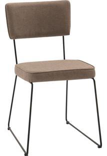 Cadeira Roma Linho Bege
