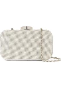 Whiting And Davis Clutch Hollywood - Prateado