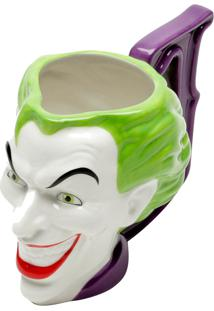 Caneca Porcelana Decorativa Mould Wb Jl Core Joker Colorida 15.9X9.2X11Cm 235Ml Urban