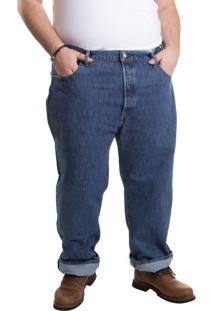 Calça Jeans Levis 501 Original B&T (Plus Size) - 56X32