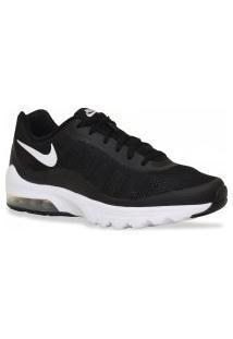 Tenis Nike Running Air Max Invigor Preto Branco