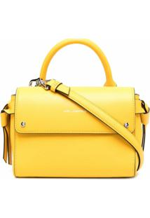 Karl Lagerfeld Bolsa Tote K/Ikon Pequena - Amarelo