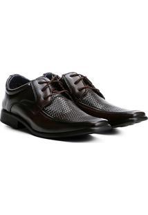 Sapato Social Walkabout Texturizado Bico Quadrado - Masculino