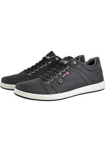 Sapatênis Cr Shoescom Elástico Lançamento Preto