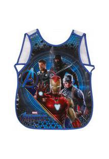 Avental Atividades C/ Bolso Interno - Peva - Avengers Movie