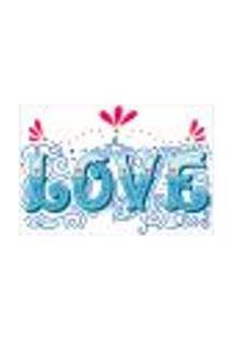 Painel Adesivo De Parede - Amor - Love - 1421Pnm