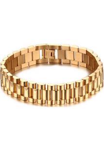 Pulseira Divanet Luxo Gold Dourada