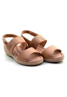 Sandalia Comfort Flex Vest Plus Anabela - 2088402