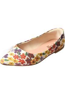 Sapatilha Promocional Scarpan Calçados Finos Floral