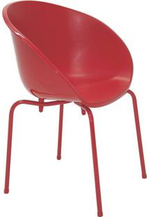 Cadeira Elena- Vermelha- 81,5X62X54Cm- Tramontintramontina