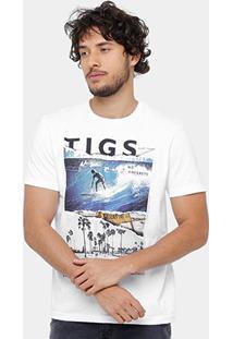 Camiseta Tigs Surf Style Masculina - Masculino