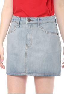 81a6c54520 ... Saia Jeans Coca-Cola Jeans Curta Pespontos Azul