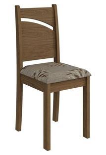 Cadeira Cimol Melissa Madeirado (2 Unidades) Savana/Café