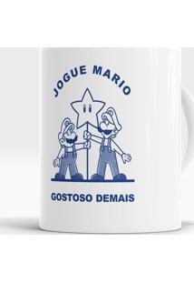 Caneca Jogue Mario