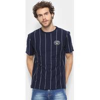 9896dbf0508 Camiseta Lacoste Detalhe Listras Masculina - Masculino