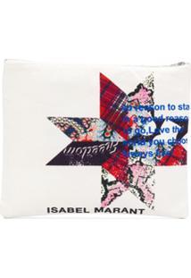 Isabel Marant Clutch Yenky - Neutro