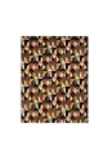 Tapete Marbella Ticiano Retangular (150X200Cm) Preto E Caramelo