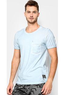 Camiseta Kohmar Flame Com Bolso Masculina - Masculino