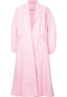 Assel Trench Coat Oversized - Rosa
