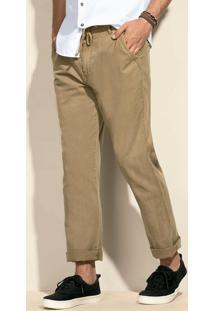 Calça Masculina Em Linho Na Modelagem Skinny