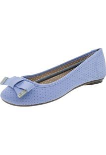 Sapatilha Feminina Moleca - 5196357 Azul 37