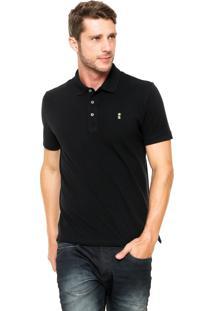 Camisa Polo Sergio K Regular Preta
