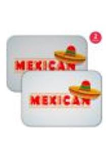 Jogo Americano Wevans Mexican Kit Com 2 Pçs