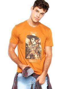 Camiseta Cavalera Locals Only Caramelo