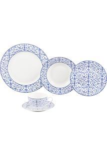 Aparelho De Jantar De Porcelana Super White Litt Wolff – 20 Peças