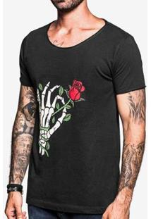 Camiseta Hermoso Compadre Gola Canoa Masculina - Masculino-Preto