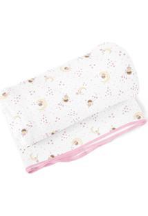 Cobertor Papi Fadinha Rosa