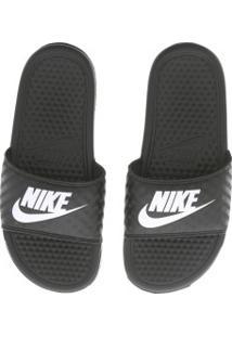c1ca70a7f0 ... Chinelo Nike Benassi Jdi - Slide - Feminino - Preto Branco