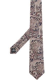 Gieves & Hawkes Gravata Com Estampa Paisley - Estampado
