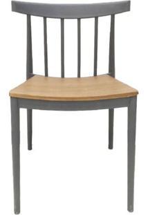 Cadeira Tango Em Polipropileno Cinza - 52599 - Sun House